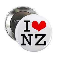 """I Love NZ 2.25"""" Button"""