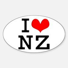 I Love NZ Decal