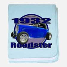 1932 Ford Roadster Midnight B baby blanket