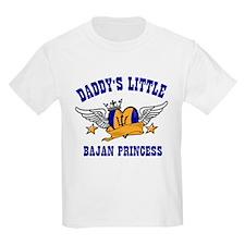 Daddy's Little Bajan Princess T-Shirt
