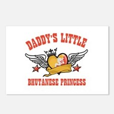 Daddy's Little Bhutanese Princess Postcards (Packa