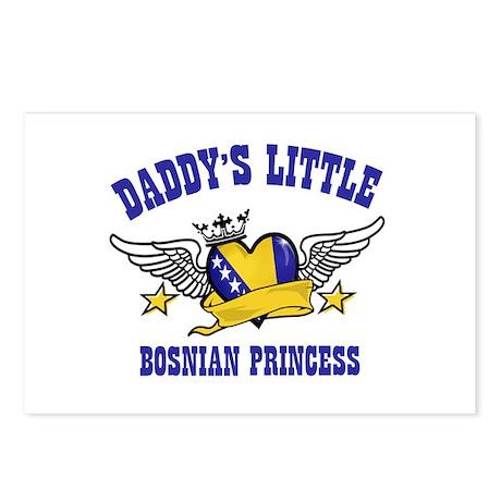 Daddy's Little Bosnian Princess Postcards (Package