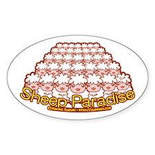 Sheep Paradise Decal
