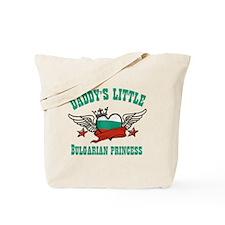 Daddy's Little Bulgarian Princess Tote Bag