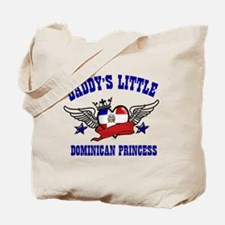 Daddy's Little Dominican Princess Tote Bag