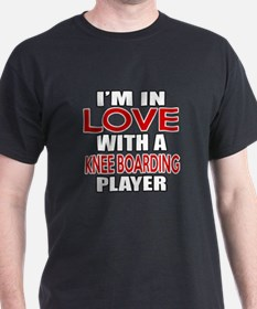 I Am In Love With Knee Boarding Playe T-Shirt