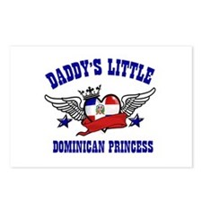 Daddy's Little Dominican Princess Postcards (Packa