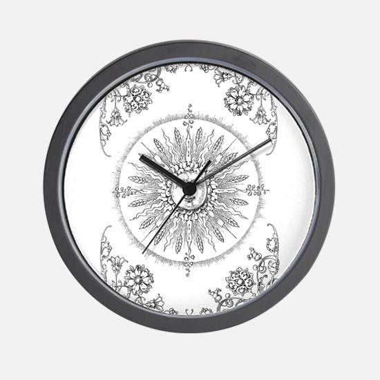 Unique Stylized Wall Clock