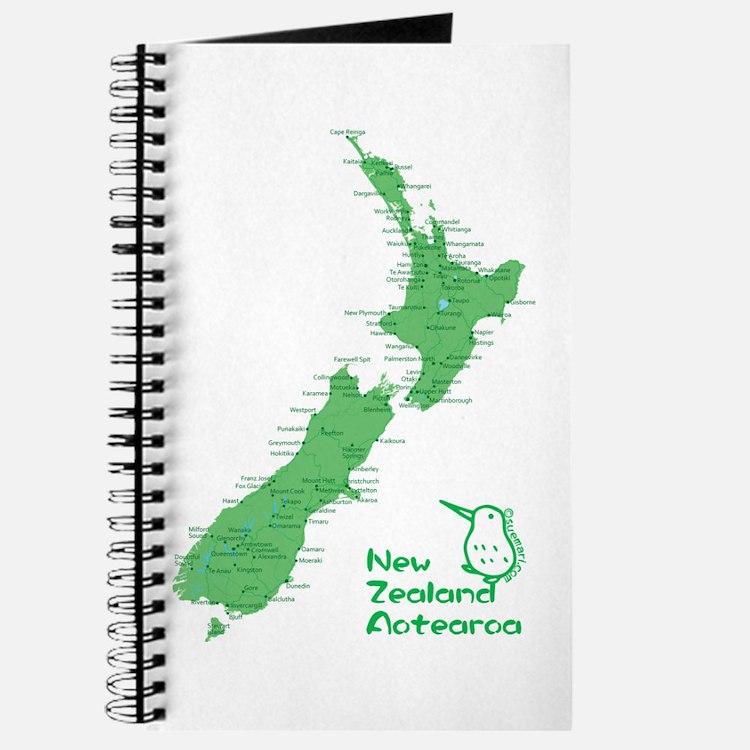 New Zealand Map Journal