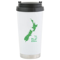 New Zealand Map Travel Mug