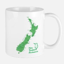 New Zealand Map Small Small Mug