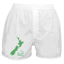 New Zealand Map Boxer Shorts
