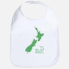 New Zealand Map Bib