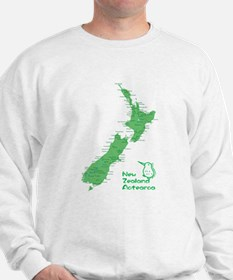 New Zealand Map Sweater