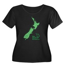 New Zealand Map T
