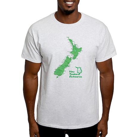 New Zealand Map Light T-Shirt