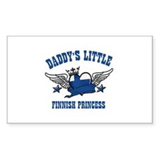 Daddy's Little Finnish Princess Decal