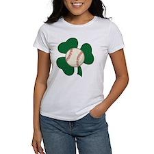 Irish Baseball Shamrock Tee