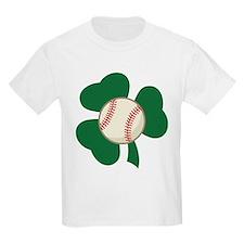 Irish Baseball Shamrock T-Shirt