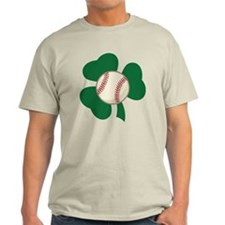 Irish Baseball Shamrock T-Shirt