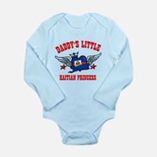 Daddy's Little Haitian Princess Long Sleeve Infant