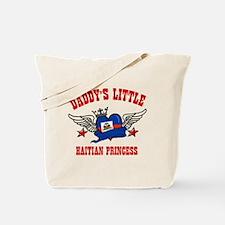 Daddy's Little Haitian Princess Tote Bag