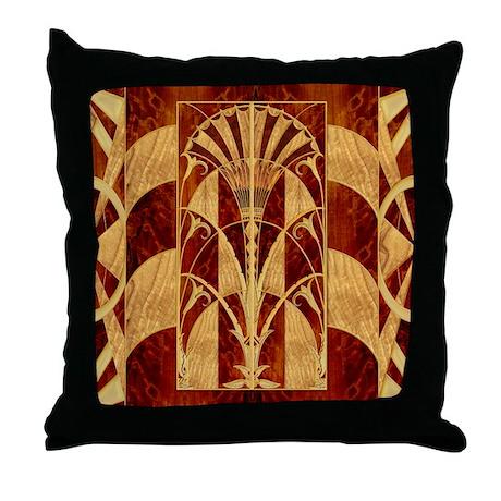 Harvest Moon's Art Deco Throw Pillow