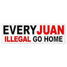 Anti-Illegal Immigration - Bumper Bumper Sticker