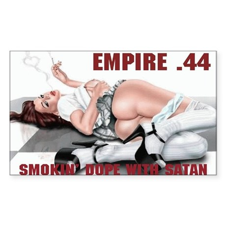 SMOKIN' DOPE WITH SATAN E44 Sticker