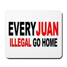 Anti-Illegal Immigration MX2  Mousepad