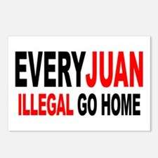 Anti-Illegal Immigration MX2  Postcards (Package o