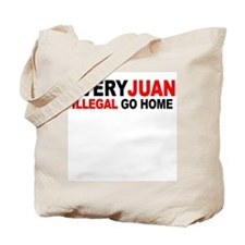 Anti-Illegal Immigration MX2  Tote Bag