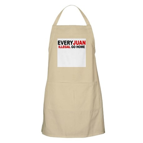 Anti-Illegal Immigration MX - BBQ Apron