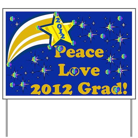 2012 Grad Yard Sign