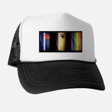 BEAR_LEATHER_RAINBOW PRIDE FLAGS Trucker Hat