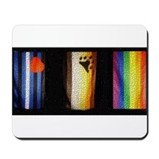 BEAR_LEATHER_RAINBOW PRIDE FLAGS Mousepad