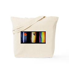 BEAR_LEATHER_RAINBOW PRIDE FLAGS Tote Bag