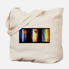 BEAR_LEATHER_RAINBOW PRIDE FLAGS Tote Bag