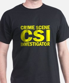 CSI Raid Black T-Shirt