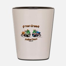 Cool Tractor pulling Shot Glass