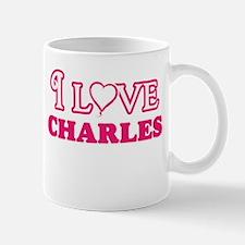 I Love Charles Mugs