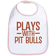 PLAYS Pit Bulls Bib