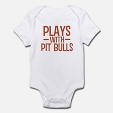 PLAYS Pit Bulls Infant Bodysuit