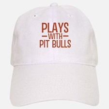 PLAYS Pit Bulls Baseball Baseball Cap