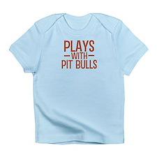 PLAYS Pit Bulls Infant T-Shirt