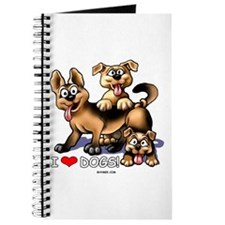 I Love Dogs Journal