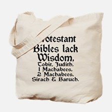 Cool Protestant Tote Bag