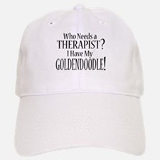 THERAPIST Goldendoodle Baseball Baseball Cap