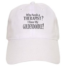 THERAPIST Goldendoodle Baseball Cap