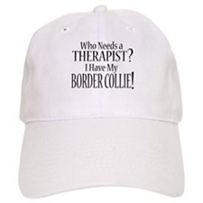 THERAPIST Border Collie Baseball Cap